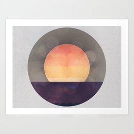 Sun Drenched Art Print