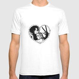 Edward Scissorhands black T-shirt