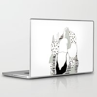wander Laptop & iPad Skins featuring Wander by Mish Bae
