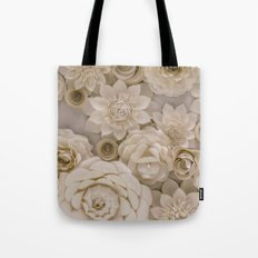 Paper Bouquet Tote Bag