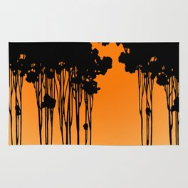 Forest Silhouette by Seasons K Designs for Salty Raven Rug