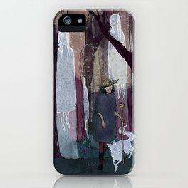 Ghosty Woods iPhone Case