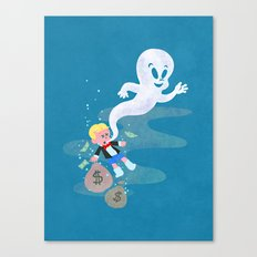 Where do friendly ghosts come from? Canvas Print