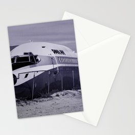 Panam Airplane Graveyard Stationery Cards