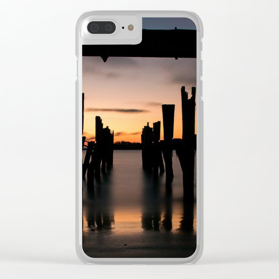 Passage Sunset Clear iPhone Case