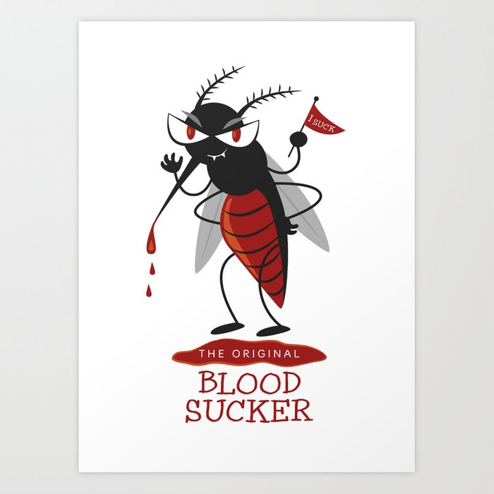 The Original Vampire Art Print