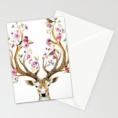 Deer tree I Stationery Cards