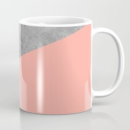 Simply Concrete Dogwood Pink Coffee Mug