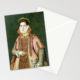 Alonzo Sánchez Coello Portrait of a Woman Stationery Cards