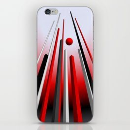 many lines of flight iPhone Skin