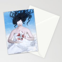 Blood and Snow Stationery Cards