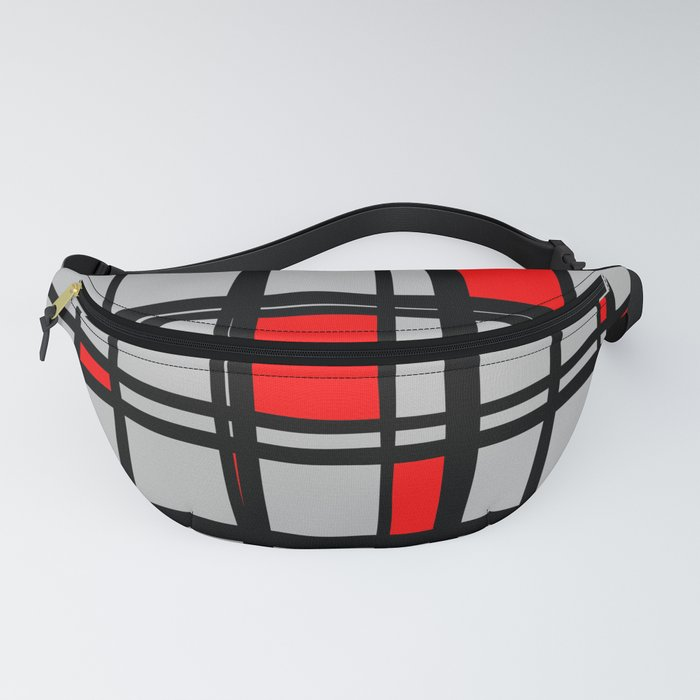 Gridlock - Abstract Fanny Pack