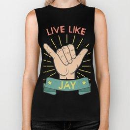 Live Like Jay - Surf Biker Tank