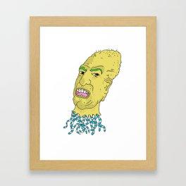 escaped mind Framed Art Print