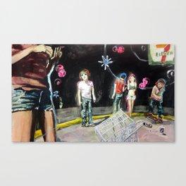 7-11 University Canvas Print