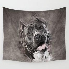 American Staffordshire Terrier - Amstaff Wall Tapestry