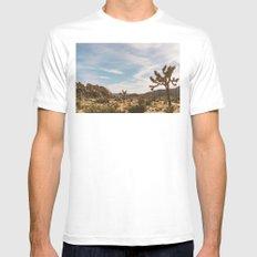 Joshua Tree National Park XXVI White MEDIUM Mens Fitted Tee