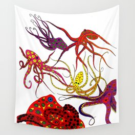 Consortium of Octopi Wall Tapestry