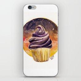 Sunset Cupcake Birthday Card iPhone Skin