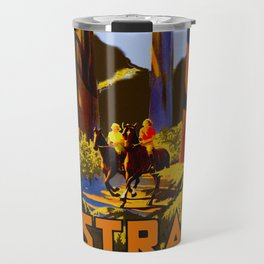 Vintage Australia Travel - Tallest Trees Travel Mug
