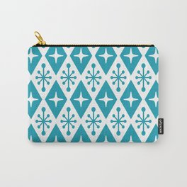 Mid Century Modern Atomic Triangle Pattern 119 Carry-All Pouch