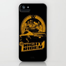 NIGHT RIDER  iPhone Case