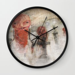 The Dead Will Walk Again Wall Clock