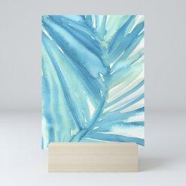 Abstract Palm Leaf Mini Art Print