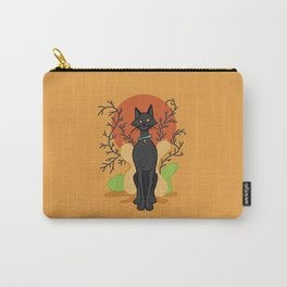 Spooky Kitty Carry-All Pouch