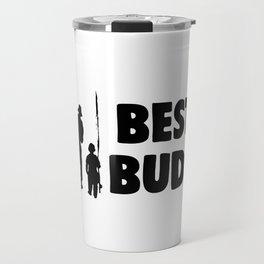 best buds black Travel Mug
