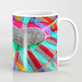 Multi Heart Rays 1 Coffee Mug