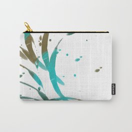 Ringed Turquoise Carry-All Pouch