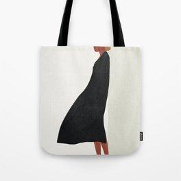 Squared Model Flow Tote Bag