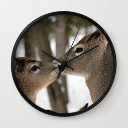 Chevreuil 001 Wall Clock