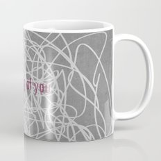 Concrete & Letters II Mug