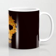 Candy Corn Skull Mug
