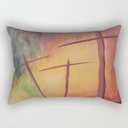 By His Grace Rectangular Pillow