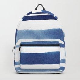Watercolor Stripe Backpack