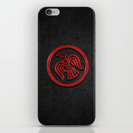 The Raven Banner Of Ragnar iPhone Skin