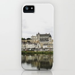 Amboise from the river iPhone Case