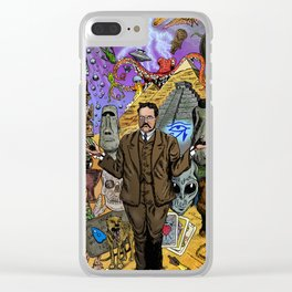 Charles Fort - Fortean Clear iPhone Case