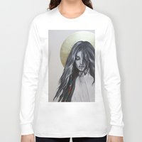 bohemian Long Sleeve T-shirts featuring Bohemian Angel by Iva Mara