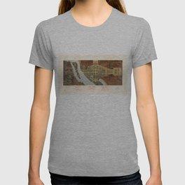 The Mall, Washington D.C. Map (1915) T-shirt