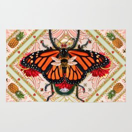 King of Insects Rug