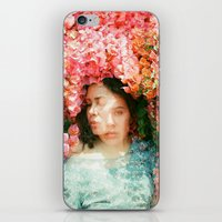 mercedes iPhone & iPod Skins featuring Mercedes Esquivel  by parkerwoods