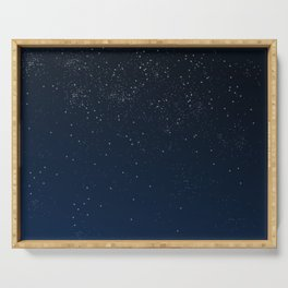 Stars in Space Serving Tray