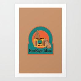 BullEagle Music Art Print