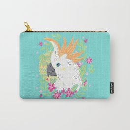 Citron Crested Cockatoo Carry-All Pouch
