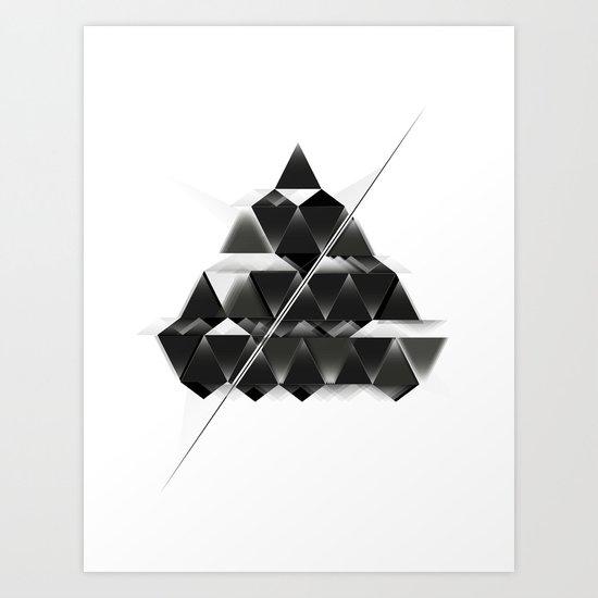 PYRAMID_ Art Print