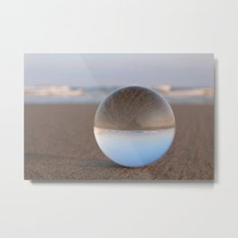 Worlds Upside Down Metal Print